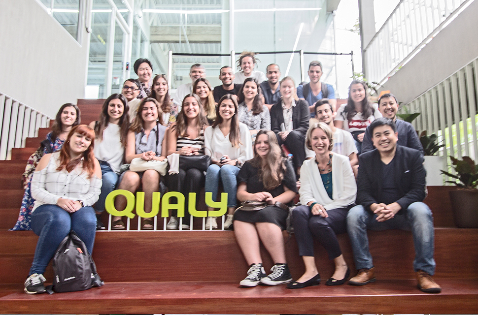 Portuguese master degree students from the College of management, Mahidol University (CMMU) visit Qualy